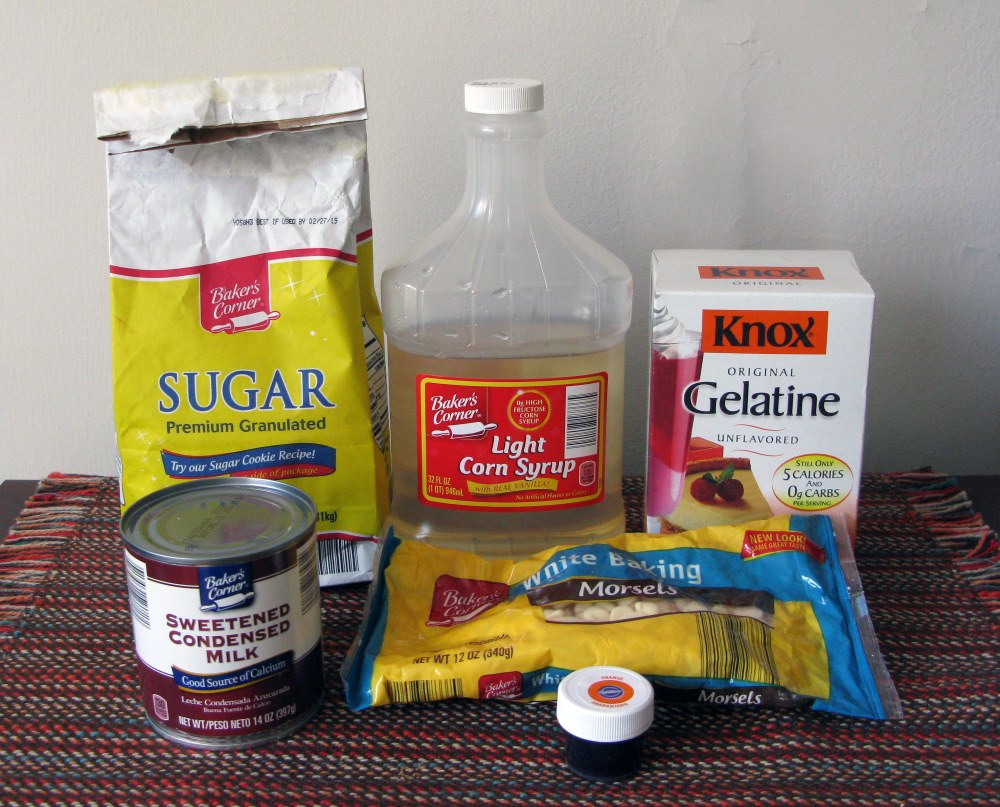 Mirror Glaze Ingredients
