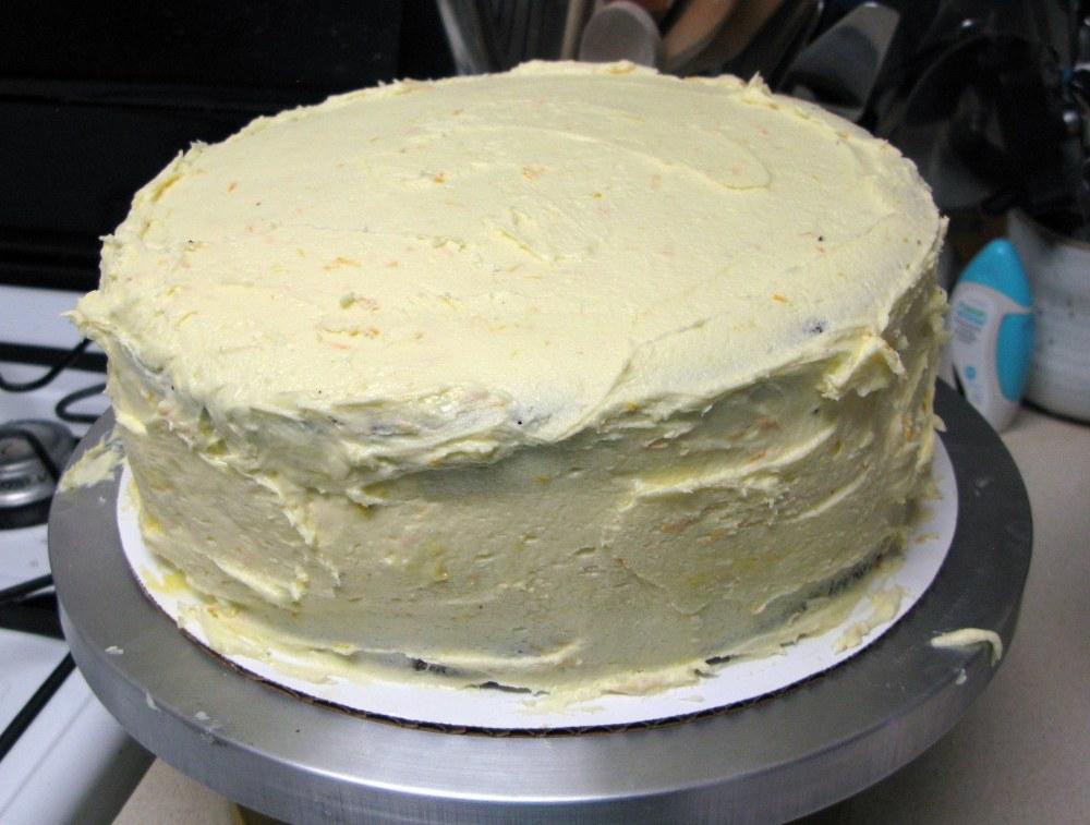 Frosted Cake (Sloppy)