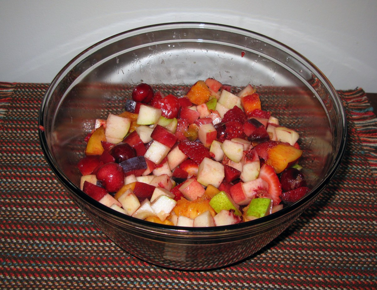 Mixed Chopped Fruit