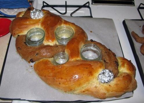 Baked Bread Braid