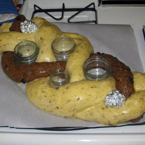 Dough Braid After Rising