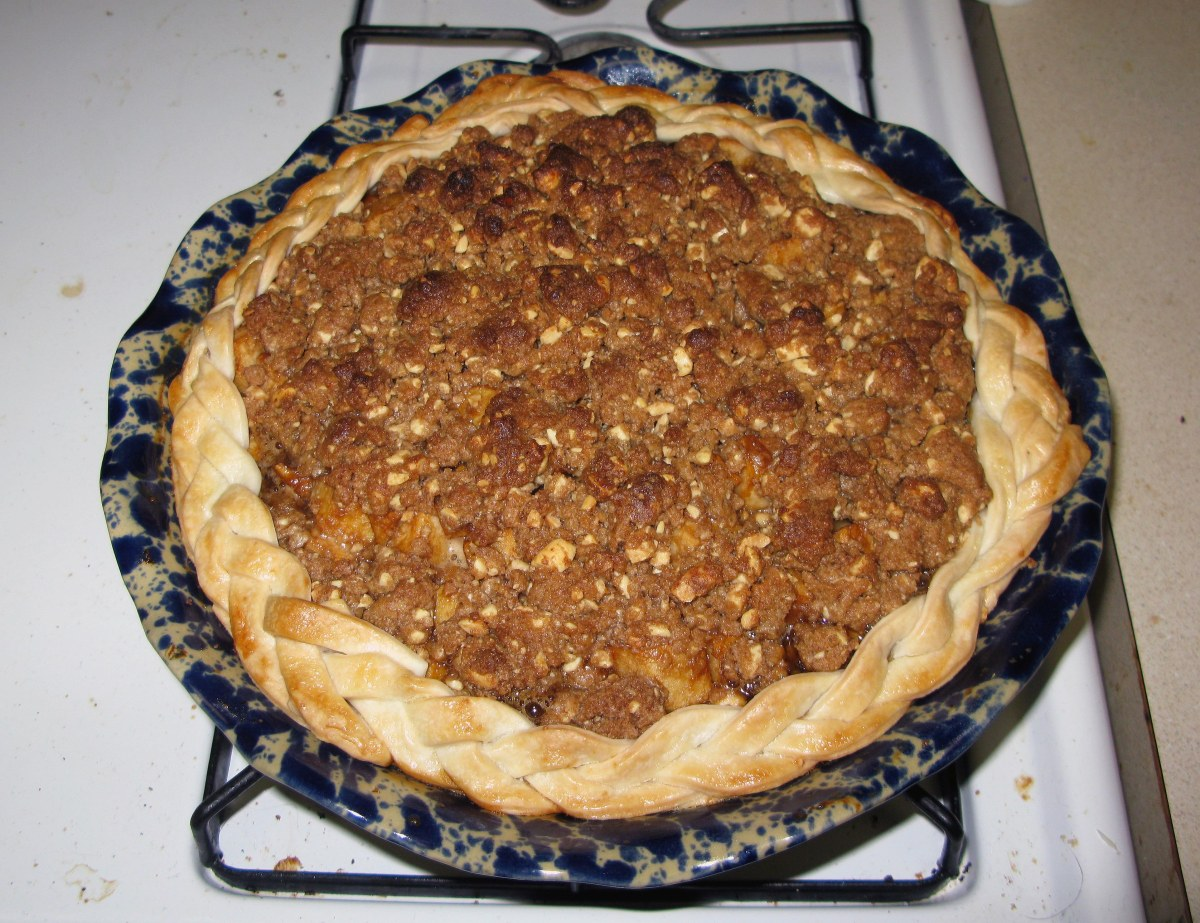 Baked Caramel Apple Pie