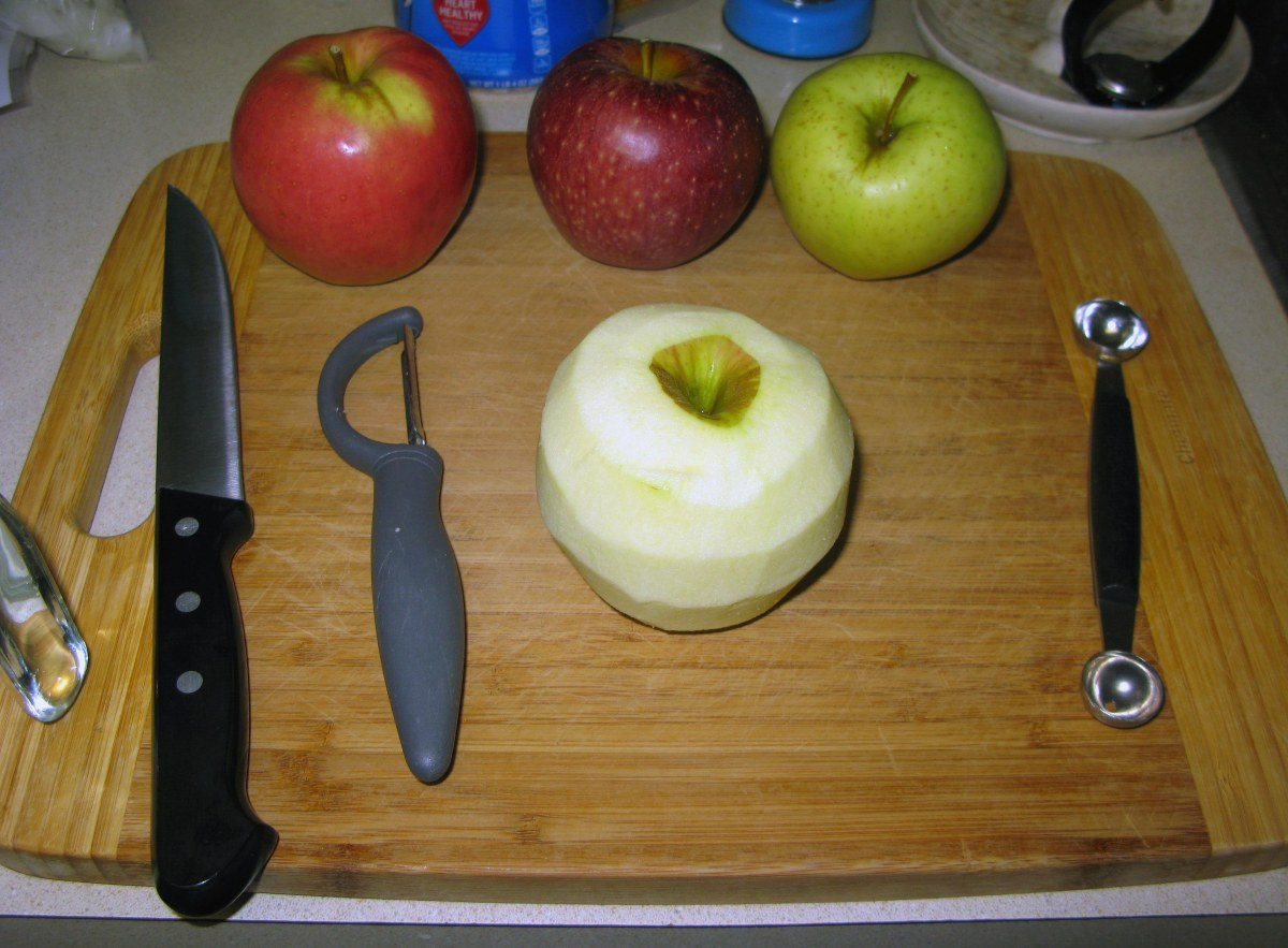 Chopping Apple 1