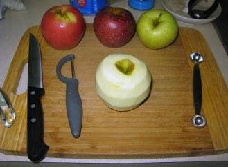 Chopping Apple 1
