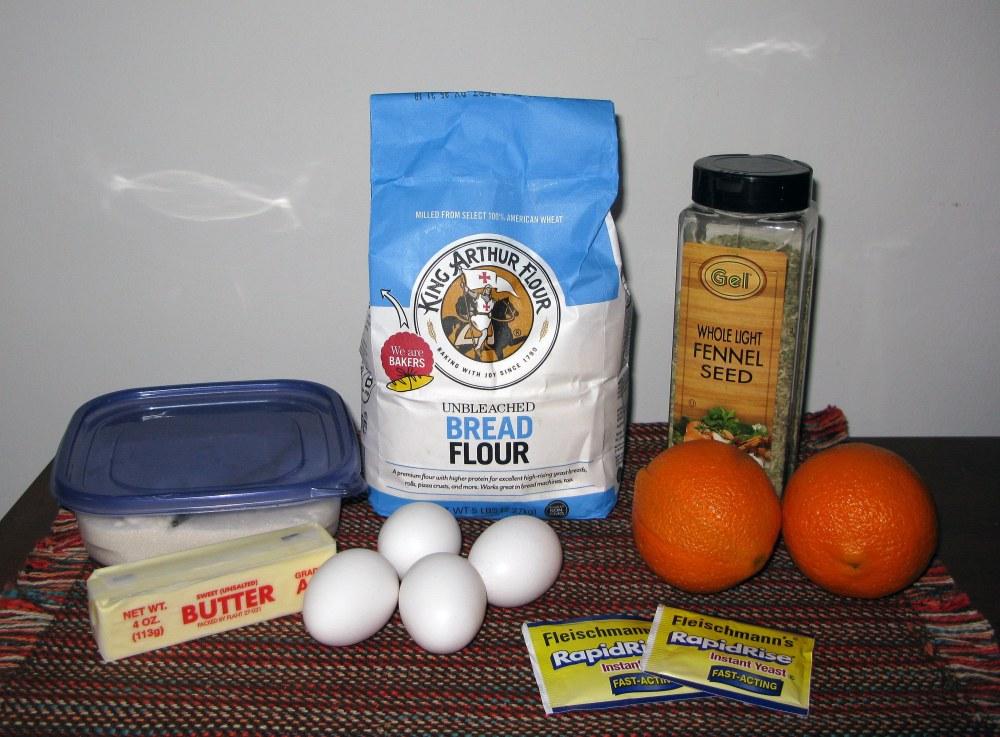 Pan de Muerto Ingredients