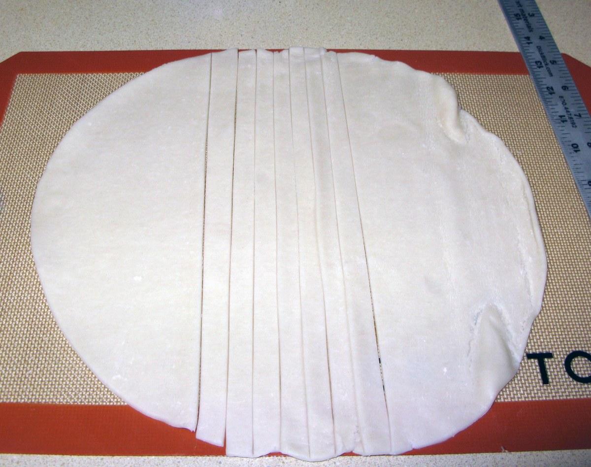 Pie Crust Strips