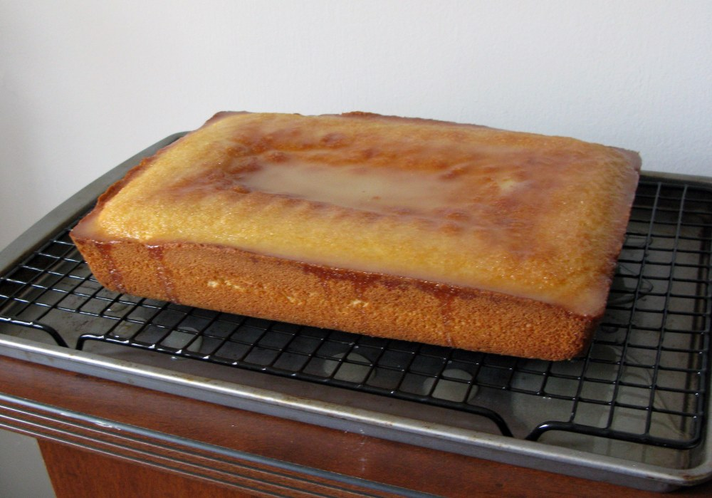 Cake with Syrup