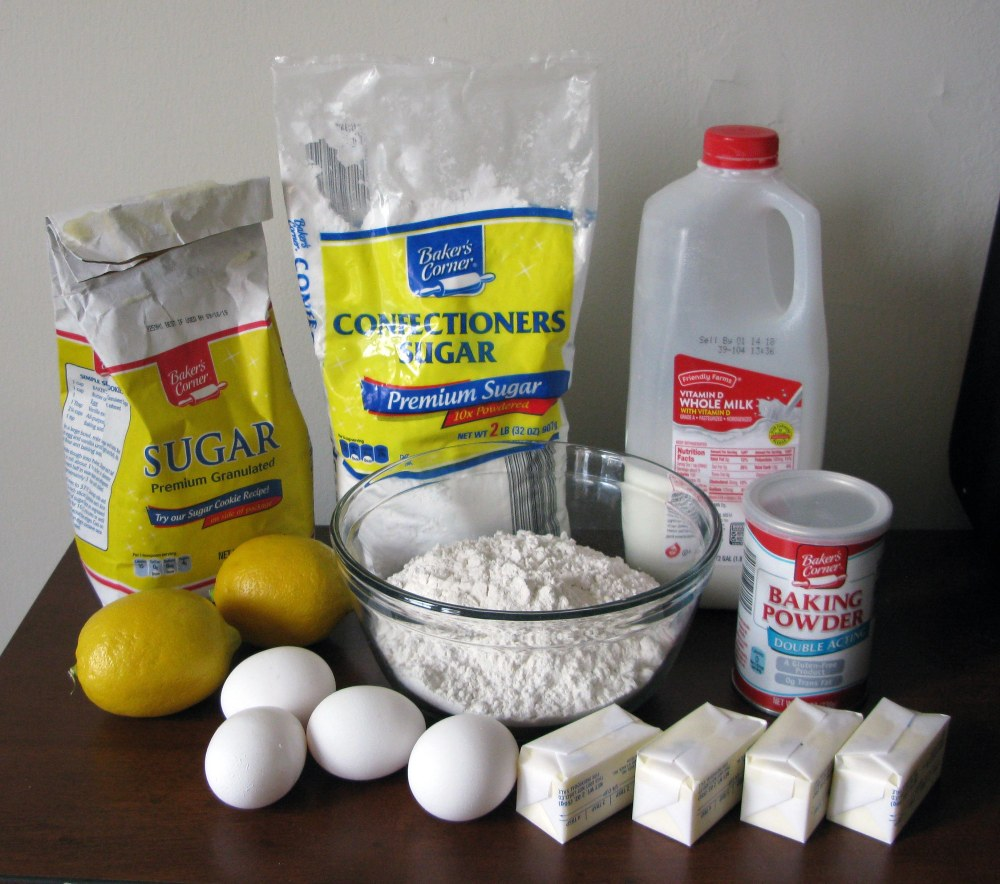 Mary Berrys Lemon Drizzle Cake Ingredients