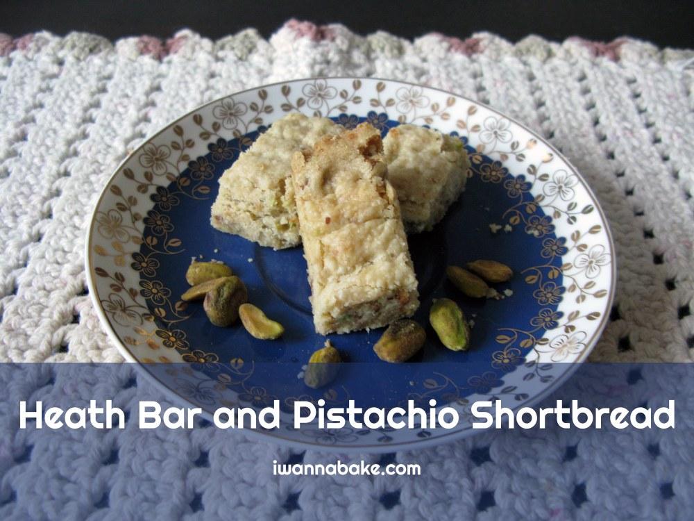 Heath Bar Pistachio Shortbread