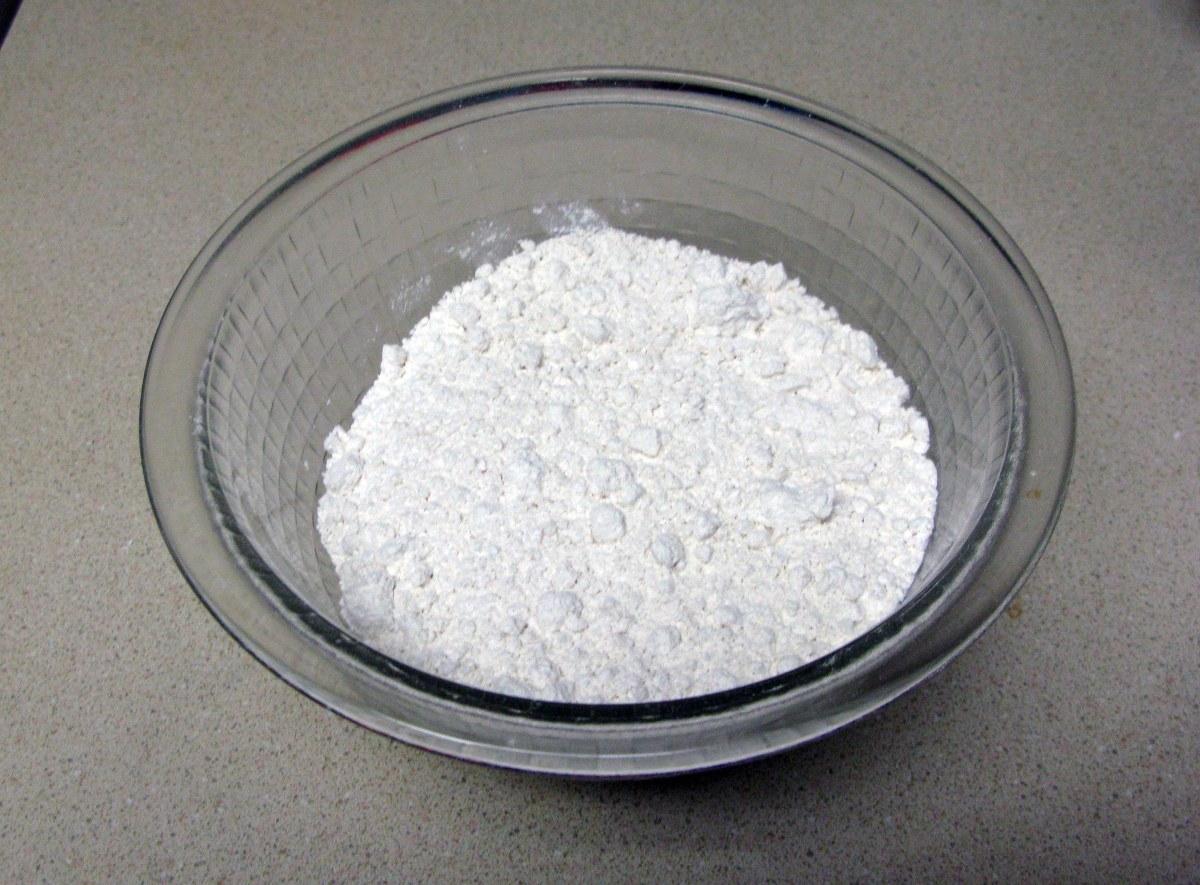 Measured Flour